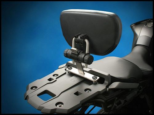 sargent em-5 passenger backrest works with or without the oem luggage rack